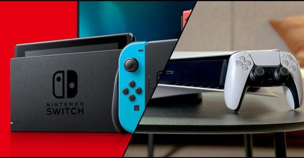 Ninteno Switch Melebihi Penjualan PS5 Pada Saat Konsol Tersebut Dirilis
